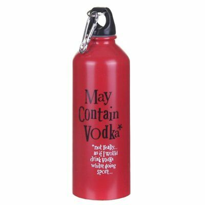 Bright Side May Contain Vodka Water Bottle