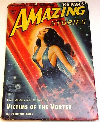 Amazing Stories – US pulp – July 1950 - Vol.24 No.7 - Phillips, Mack Reynolds