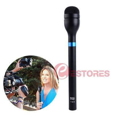 BOYA BY-HM100 Omni-Directional Dynamic Handheld Microphone For ENG & Interviews