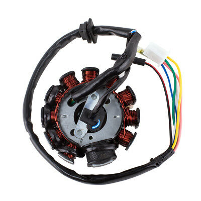 Magneto Stator 11 Coil 4 Wire for GY6 Motorcycle Scooter Moped ATV 125cc 150cc