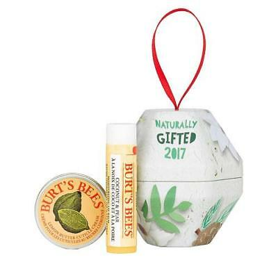 Burts Bees Gift Set - Coconut and Pear Christmas Bauble