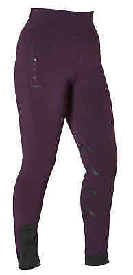 Firefoot Ladies Ripon Stretch Breeches Riding Tights Uk 8-20 Navy/orange, Black