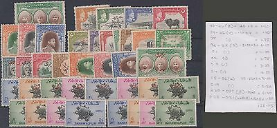 Pakistan - Bahawalpur State Mint Sets And Singles With Officials