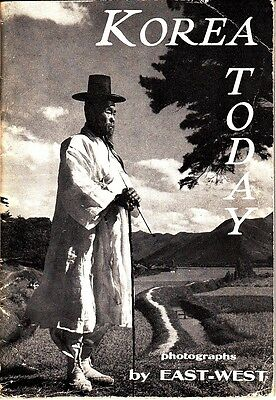 Korea Today Photographs by East-West Toppan Press 1954 Book 1950s