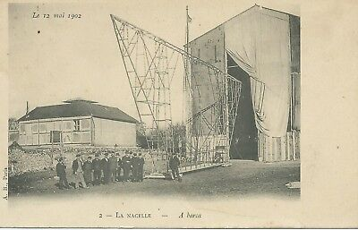 ** TOP CPA , Aviation, La Nacelle , le 12 Mai 1902   **