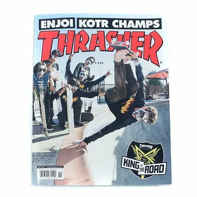 Thrasher Magazine November 2017 KOTR Issue Ben Raemers Cover