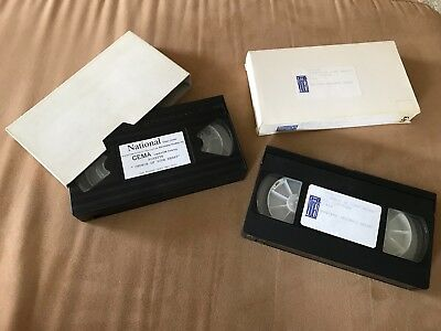 "Roxette ""Church Of Your Heart"" 2 Different US 1 Track Promotion VHS Video Cas."