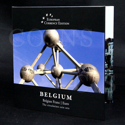 European Currency BELGIUM Belgium Frank /  Euro The Circulation Coin Sets