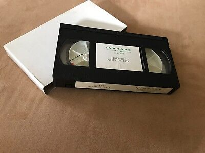 "Roxette ""Queen Of Rain"" Holland 1 Track Promotion VHS Video Cassette"