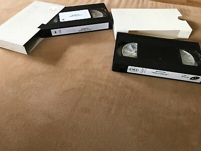 "Roxette ""Wish I Could Fly"" Swedish + Holland 1 Track Promotion VHS Video Cass."