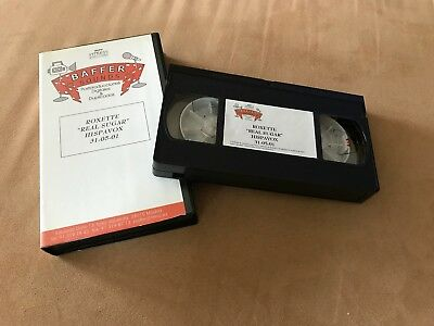 "Roxette ""Real Sugar"" Spanish 1 Track Promotion VHS Video Cassette"