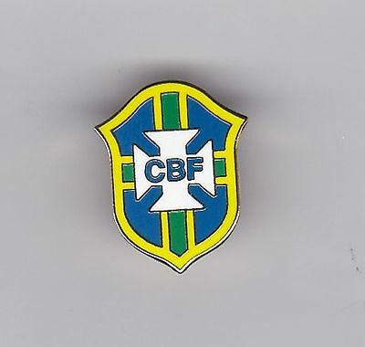 "Brazil ""CBF"" - lapel badge"