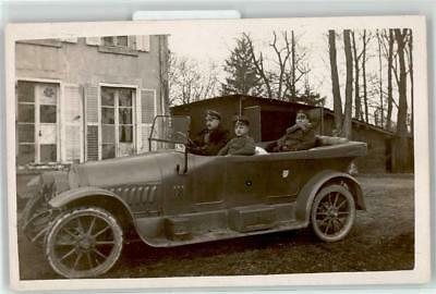 52604130 - German WWI Car with Commander and Driver RPPC