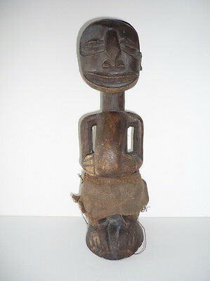 Old Tribal African Wooden Statue Congo