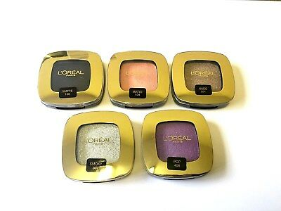 Loreal Color Riche Matte Eyeshadow Wholesale Joblot ( Pack Of 12 Mixed Colours )