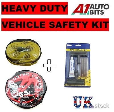 3 Pieces Automotive Winter Emergency Kit For Car Vehicle Breakdown Safety