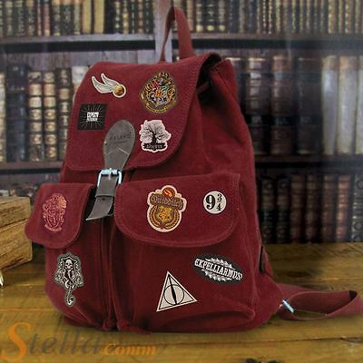 14 Harry Potter Iron On Patches Sew On Badges Clothes Bag Fabric Applique