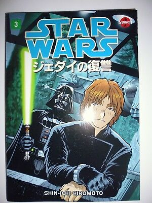Star Wars -Return Of The Jedi Manga -Vol 3. Shin-ichi Hiromoto.Dark Horse Comics