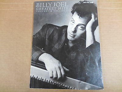 Vintage Song Book - Piano*Guitar*Voice - Billy Joel - Greatest Hits I & II