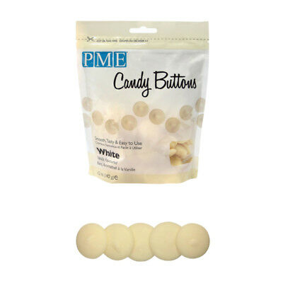 20 x 12oz PME WHITE VANILLA Candy Button Melt Pop Sugarcraft Cake Decoration Dip