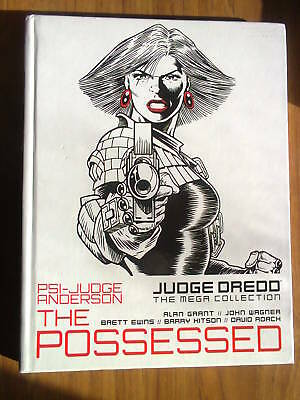 Judge Dredd, The Mega Collection iss 14, vol 8, Psi-Judge Anderson:The Possessed