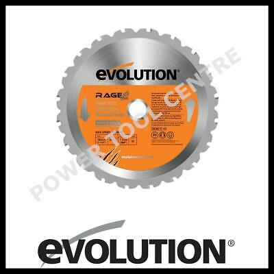 Evolution RAGE185 Multipurpose 185mm TCT Circular Saw Blade Rage RageB Rage4