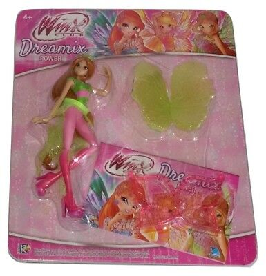 Winx Club Dreamix Power Flora Figure with Stand