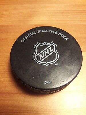 NHL Official Practice Puck - Ice Hockey