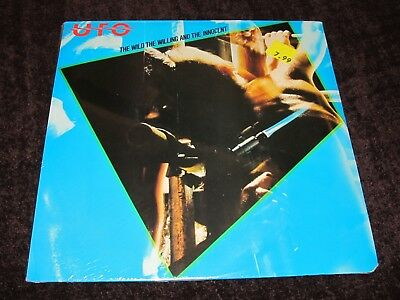 UFO / The Wild, The Willing And.. ORIG USA 1st PRESS LP 1981 SEALED! HEAVY METAL