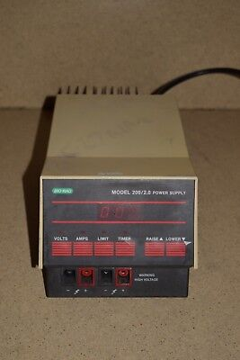 Bio-Rad Model 200/2.0 Electrophoresis Power Supply (1A)