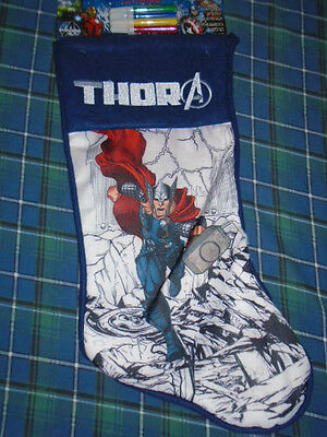 Thor Color Me Stocking
