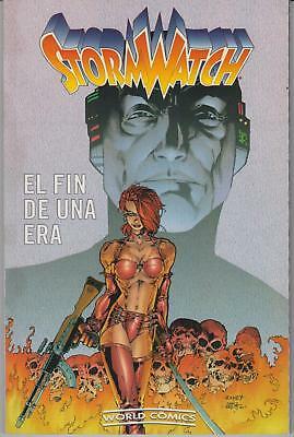 STORMWATCH - EL FIN DE UNA ERA , de Warren Ellis, Tom Raney y Jim Lee