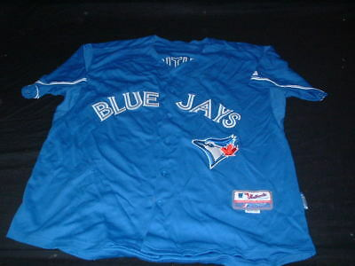 Toronto Blue  MLB USA United States Baseball XL Mans Bautista no19 Majestic Top