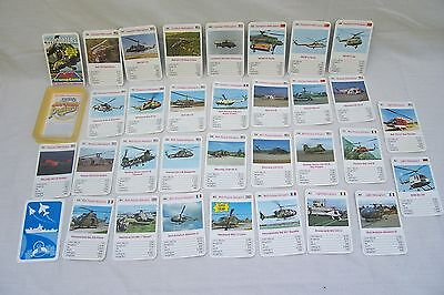 Vintage Ace Trump Card Game - Helicopters