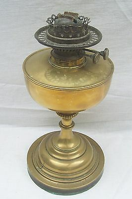 Vintage Evered's Duplex No 3 Brass Oil Lamp Base