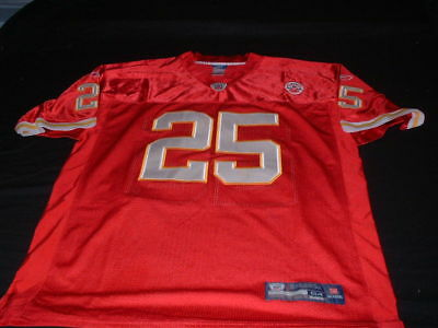 Kansas City Chiefs USA NFL American Football XL Mans CharlesNo25 Reebok Jersey