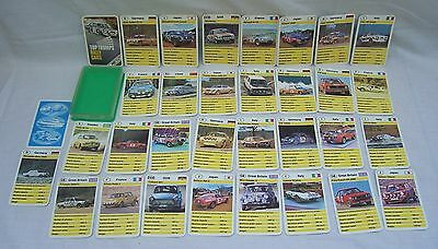 Vintage Top Trumps - Rally Cars - Lot 2
