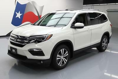 2016 Honda Pilot EX-L Sport Utility 4-Door 2016 HONDA PILOT AWD EX-L SUNROOF NAV HTD LEATHER 10K #119191 Texas Direct Auto
