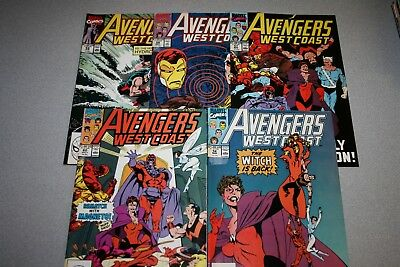 Small Avengers West Coast Collection (#56)_Average Grade Fine+ To F/vf_Marvel!