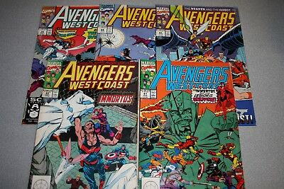 Small Avengers West Coast Collection (#61)_Average Grade Fine+ To F/vf_Marvel!