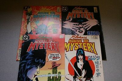 Small Elvira's House Of Mystery Collection (#2)_Average Grade F/vf To Vf!