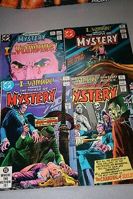 Small House Of Mystery Collection (#306)_Average Grade Vf Minus To Very Fine!