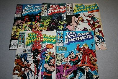 Small West Coast Avengers Collection (#36)_Average Grade Fine+ To F/vf_Marvel!
