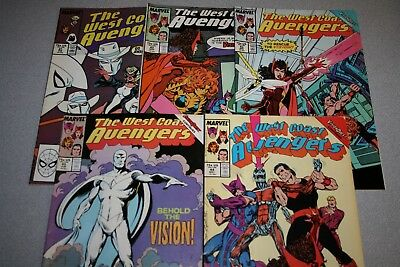 Small West Coast Avengers Collection (#45)_Average Grade Fine+ To F/vf_Marvel!