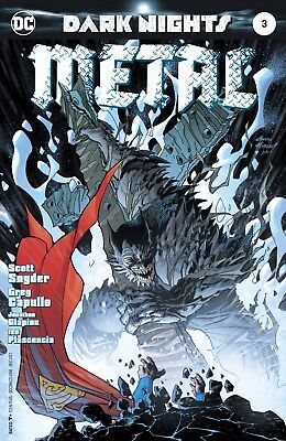 Dark Nights Metal #3 Variant Kubert Snyder Capullo DC Comic Book NM 1b bc