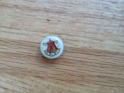 Antique Odd Fellows FLT collar button Whitehead and  Hoag