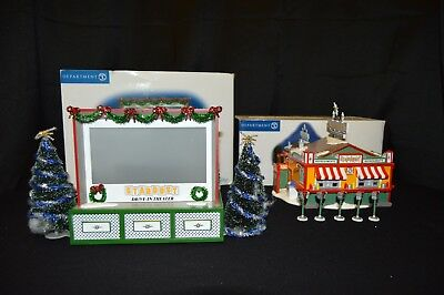 Dept 56 Stardust Drive-In & Refreshment Stand #55064/55065