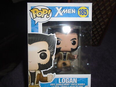 Funko Pops Pop Vinyl NIP Marvel X-Men Logan 185