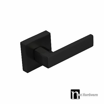 One Door Lever Dummy Handle  (3111MB)  - Matt Black Finish Handles