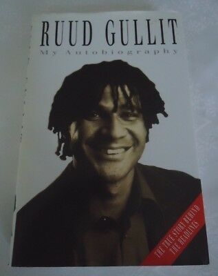 Ruud Gullit( My Autobiography)  First Edition  Signed Copy